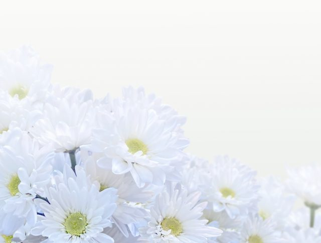 お通夜用の花