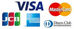 クレジットカード・デビッドカードも利用可能